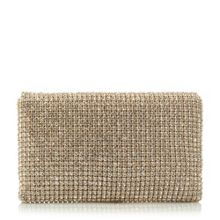 Elizabeth diamante clutch bag