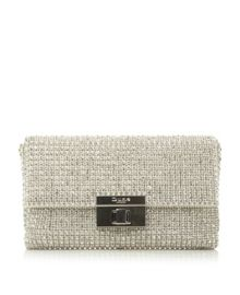 Dune Elizabeth diamante clutch bag