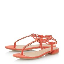 Janique loop detail flat sandal