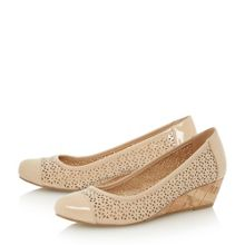 Alarna laser cut wedge