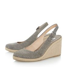 Karley closed toe espadrille wedge