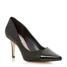 Aleni mid heel court shoe