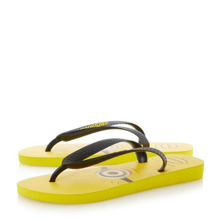 Havaianas Despicable Me Slip On Casual Flip Flops