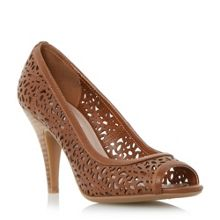 Colette laser cut court shoes