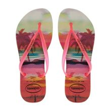 4132614 fluoro jelly tropical flip flop