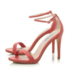 Stecy sm two part heeled sandal