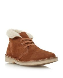 Pallie fur lined desert boot
