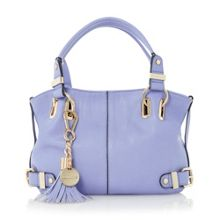 Dinideather small slouchy tassel bag