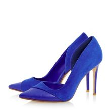 Clarisa dorsay court shoe