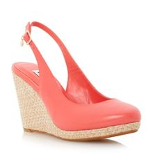 Cecille slingback wedge