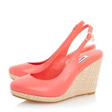 Cecille slingback wedges