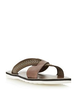 Dune Inky Slip On Casual Sandals