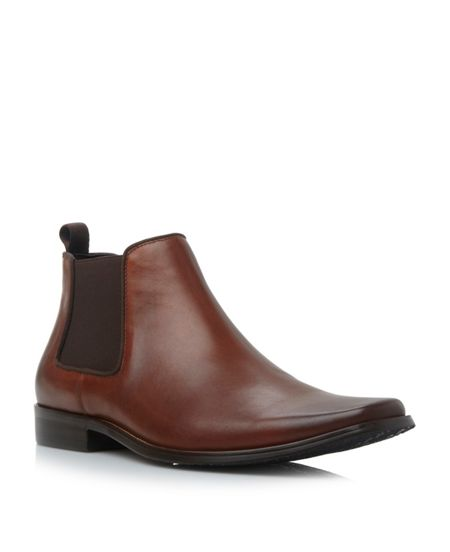 Dune Arkwright Slip On Formal Chelsea Boots