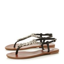 Sidonie sm jewelled trim sandal
