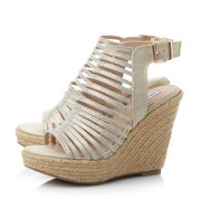 Garrden sm multi strap wedge