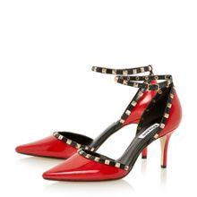 Daveney Square Stud Court Shoe