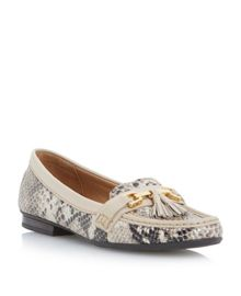Glander tassle trim loafer