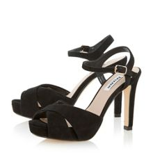 Marleen crossover strap high heel sandals