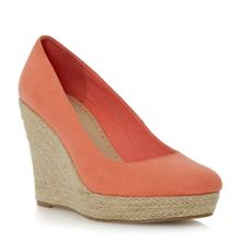 Atria espadrille wedge court shoe