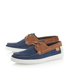 Keelson Two Tone Slip On Casual Loafers