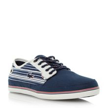Saulieu 3 Stripe Detail Boat Shoe