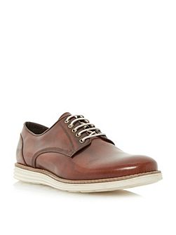 Bayside Lace Up Casual Gibson Shoes