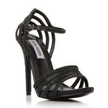 Steve Madden Cagged jewelled strap heel sandals