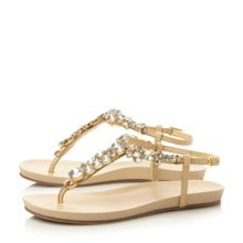 Kirby jewelled toe post sandal