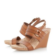 Dune Kimmie cork wedge sandal