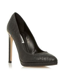 Arabella platform court shoe