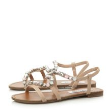 Blazzzed sm jewelled strappy flat sandal