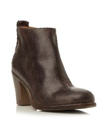 Phillie block ankle boot