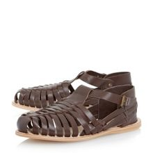 Fisher Buckle Fastening Casual Sandals
