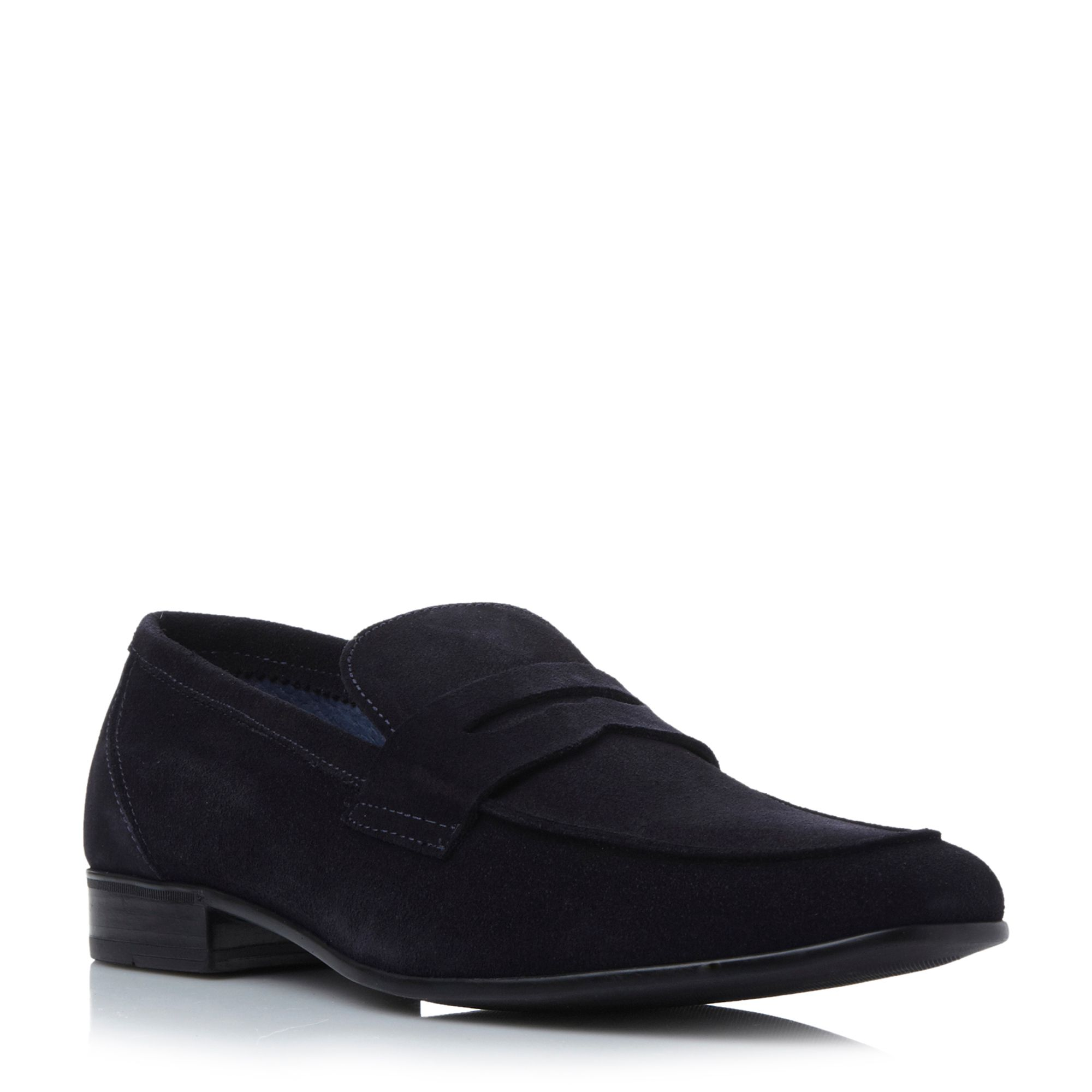 Roland Cartier Roland Cartier Beech Saddle Casual Loafers, Navy