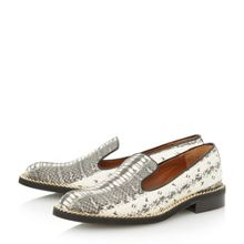 Gema high vamp loafer
