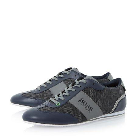Hugo Boss Light Influen Lace Up Casual Trainers