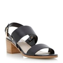 Jakob stacked block heel sandal