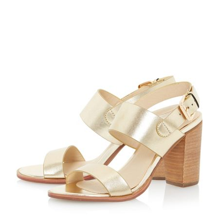 Head Over Heels Jolli multi strap heeled sandal