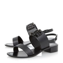 Joni square low toe sandals