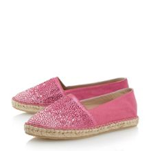 Guessed stone vamp espadrille