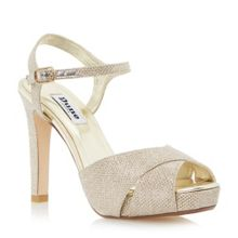 Dune Marleen crossover high heel sandals