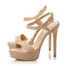 Dune Michaela two part platform sandals