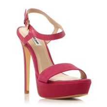 Michaela two part platform sandals