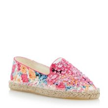 Gesper gem detail espadrille shoes