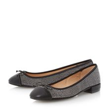 Hascha studded ballerina shoes