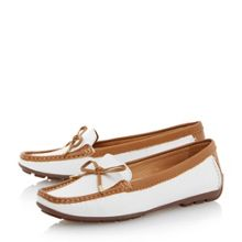 Episode Genah bow trim loafer