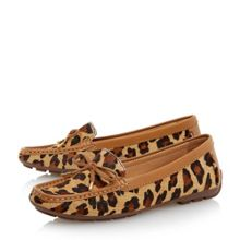 Genah bow trim loafer