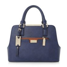 Domino multi compartment handbag