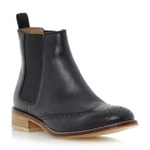 Quentin leather brogue chelsea boot