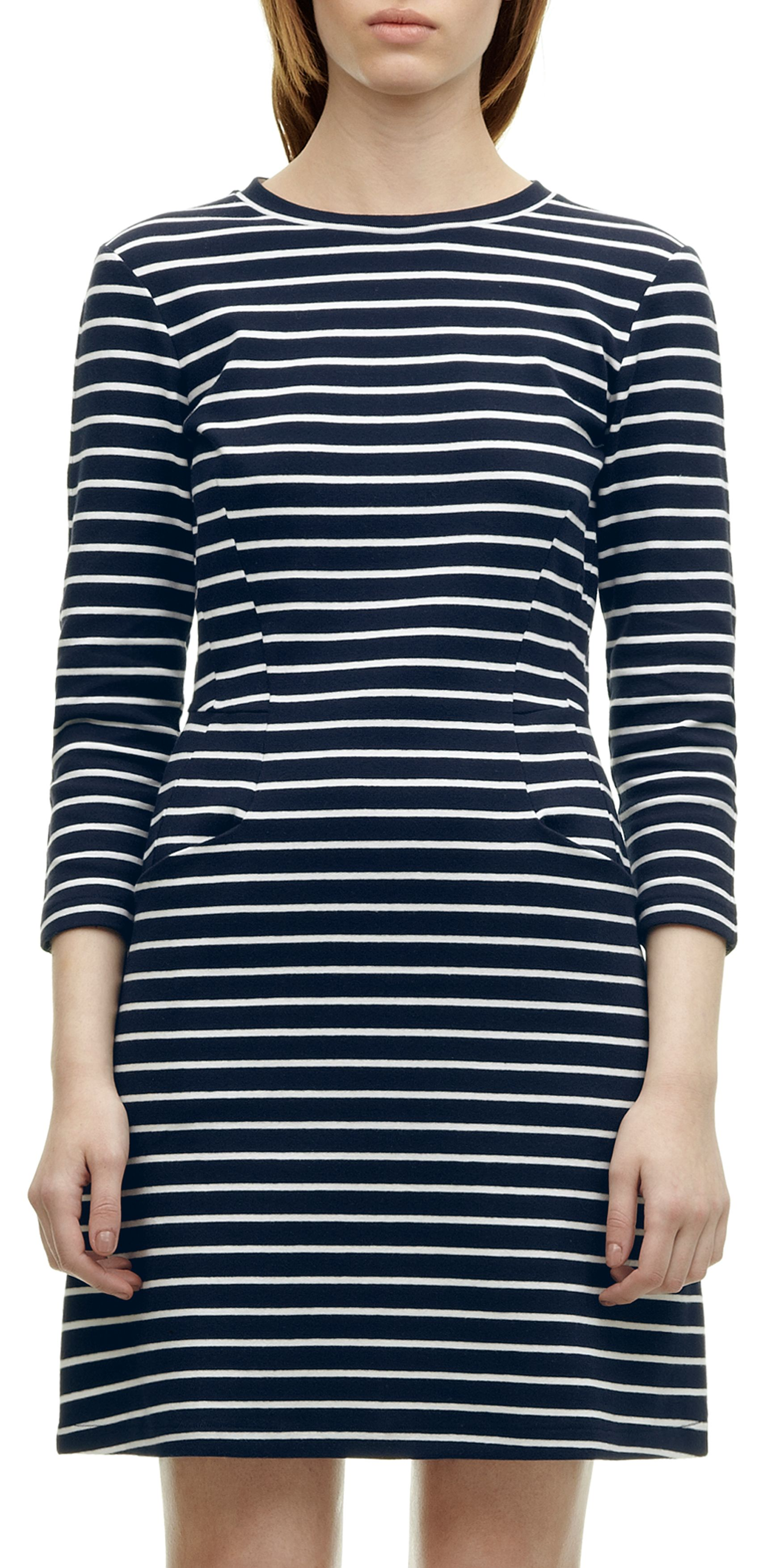 Shona Stripe Jersey Dress